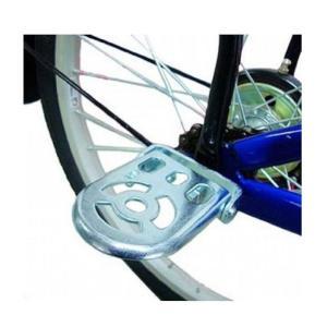 サイクルステップ 折りたたみ可能 子供用足置き  通常2人乗り禁止  変則ギアガード  2個セット
