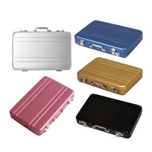 名刺入れ アルミアタッシュケース 型 カードケース