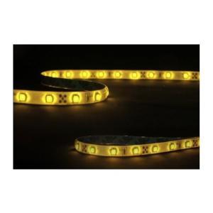 12V超高輝度 5M 300連 LEDテープ 防水 切断可能  白ベース/LEDアンバー 正面発光 takuta2