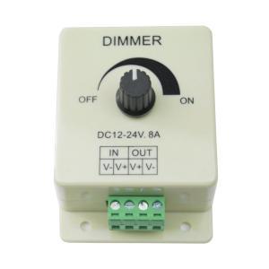 LEDの明るさ調整 DimmerコントローラーLED制御12-24V 8A  並行輸入品