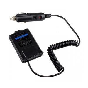 BAOFENG UV5R用シガライター 電源コード カーチャージャー 車載充電器 電源アダプタ DC12V 400mAh ブラック takuta2