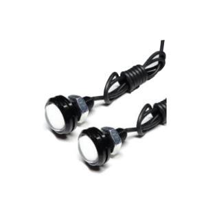 計6W 大玉計2連ホワイト防水超高輝度LEDスポットライト埋込型 takuta2