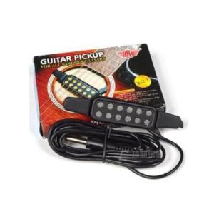アコースティックギターをエレアコに 穴開け加工不要 ギター・ピックアップ|takuta2