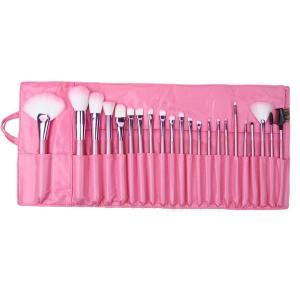 化粧ブラシセット メイクブラシセット 可愛いピンク専用収納ケース付き 22本セット|takuta2