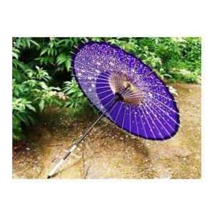 和傘 コスチューム用小物 紫 長さ約85cm|takuta2