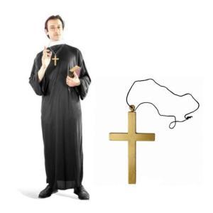 牧師 衣装 十字架首飾りセット コスチューム|takuta2