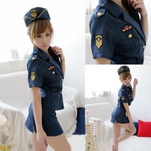 セクシー ミニスカ ポリス 婦人警官 コスプレ 衣装|takuta2