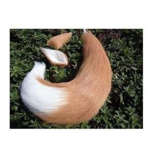 コスプレの小道具に!キツネ 尻尾65cm 耳付き|takuta2