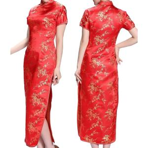 コスプレ衣装 チャイナドレス 赤 XXLサイズ takuta2
