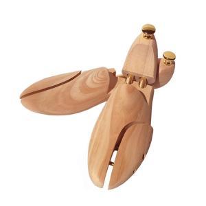 シューキーパー 木製 メンズ レディース シューツリー 靴の型崩れ 防臭 防湿 器具 23.5-28...