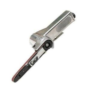 エアーベルトサンダー 10mm 角度調整 交換用ベルト3本付き 錆落とし 研削 研磨 エアー工具