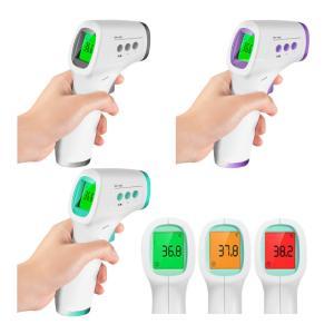 体温計 デジタル 非接触 赤外線温度計 触れずに素早く測れる 電子温度計 日本語説明書付き|takuta2