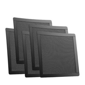 PC 防塵フィルター pcケースファン 140mm用 防塵マグネットパンチングフィルター 5枚セット takuta2