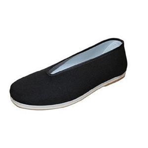 カンフーシューズ 靴 太極拳 少林寺拳法 空手 カンフーに ブラック 黒|takuta2