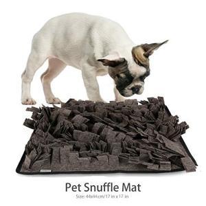 Petneces 犬のトレーニングマット ペット鼻用毛布 ペットおまちゃ ノーズワーク 鼻づまり 餌マット 嗅覚活用 遊び場所 訓練毛布 集中力向上|tam-com