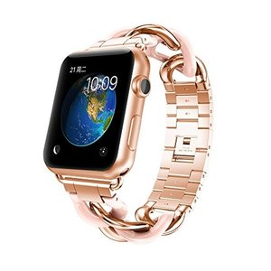 NotoCity Apple watch バンド アップルウォッチ ステンレススチール交換バンド 3...