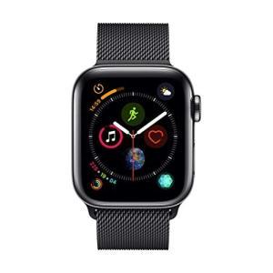 AppleWatch Series4(GPS+Cellularモデル)- 40mmスペースブラックス...