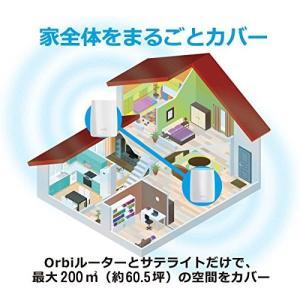 NETGEAR メッシュ WiFi 無線LANルーター トライバンド 866+866+400Mbps...
