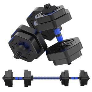 MOJEER ダンベル【最新進化版・3in1】5kg×2個セット (10kg)/10kg×2個セット...