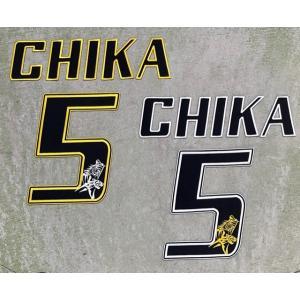 【メール便対応可】オリジナルプレーヤーズ刺繍ワッペン CHIKA/ 5 (注:返品・交換不可) tama41shop