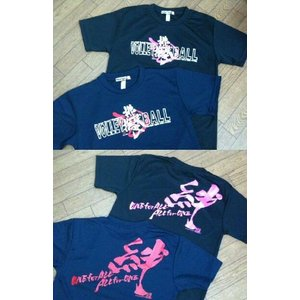 【50%OFF】在庫限り!排球撫子魂ドライTシャツ|tama41shop