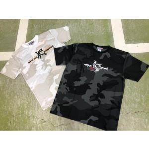 虎軍魂〜カモフラドライTシャツ|tama41shop