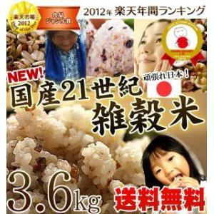 国産21世紀雑穀米 3600g 白米と一緒に炊くだけで栄養たっぷりのご飯|tamachanshop