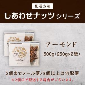 アーモンド 500g Wブレンド 無添加 素焼き 焙煎 ロースト 無塩 無油 送料無料|tamachanshop|03