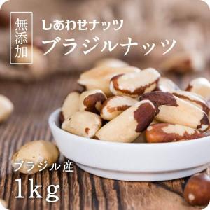 ブラジルナッツ 1kg (500g×2袋) ナッツ 無着色 無香料 保存料 無添加 スーパーナッツ ...