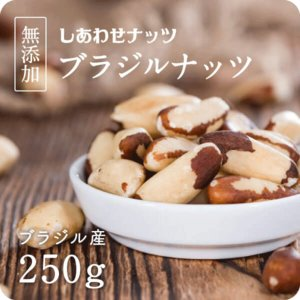 ブラジルナッツ 250g ナッツ 無着色 無香料 保存料 無添加 スーパーナッツ 送料無料