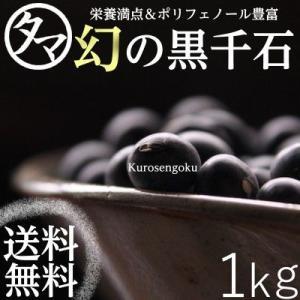幻の黒千石 (黒大豆) 1000g 極小粒の黒千石大豆|tamachanshop