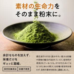 ななつのしあわせ青汁1箱 (30包) 有機JAS認定 オーガニック認証 7種類 健康 青汁 大麦若葉 抹茶 ボタンフウソウ 送料無料|tamachanshop|09