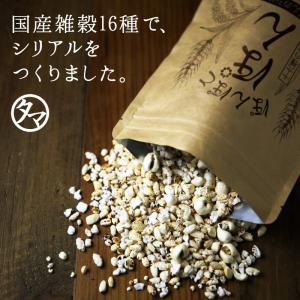 シリアル  ぽんぽこぽん 栄養豊富 16種類 雑穀 パフ シリアル 送料無料|tamachanshop