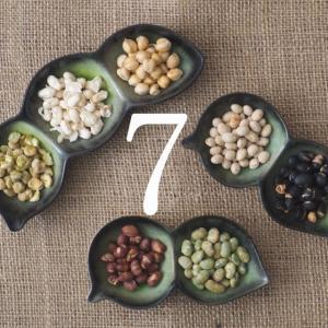 ななつのしあわせミックス煎り豆 300g 7種類ブレンド 無添加 無塩 無油 送料無料|tamachanshop|05