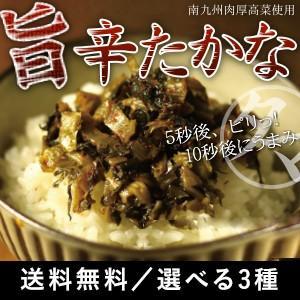 九州からし高菜漬け 3種類から選べる