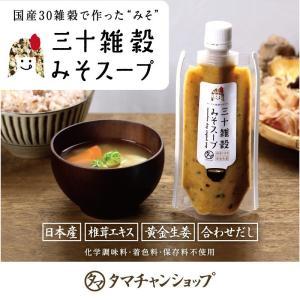 みそスープ 170g 国産 三十雑穀 味噌 チゲ スープ 送料無料 セール|tamachanshop