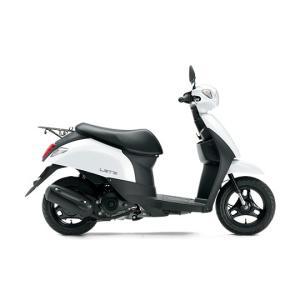 スズキ 新車 '19 レッツ 白 (50cc原付) 現金一括払価格(銀行振込前払い)|tamacycle-yafuu-shop