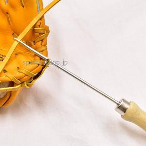 あすつく グラブ ミット 紐通し 棒 1本あると便利な工具 グローブ ヒモ 通し 在庫有り 即納
