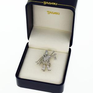 TASAKI タサキ ダイヤ(D0.68ct) スコットランド パイパーモチーフ ペンダントトップ ブローチ 750 K18 ホワイトゴールド 31580710|tamariya78|10