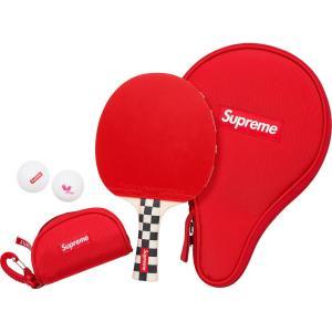 【新品】Supreme シュプリーム バタフライ テーブルテニス ラケットセット レッド 卓球 スポーツ ピンポン 31821107