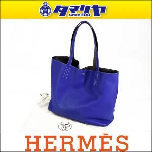 HERMES エルメス ドゥブルセンス36 トートバッグ □...