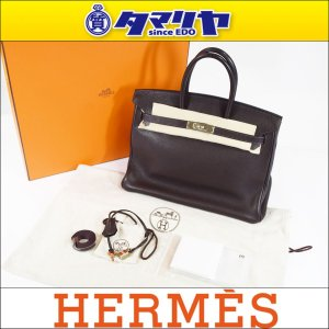 Hermes エルメス バーキン 35 トゴ □H刻印 ショ...