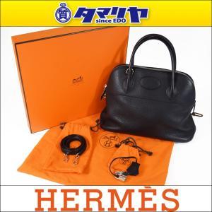 HERMES エルメス ボリード31 ブラック トリヨン □...
