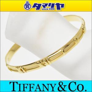 TIFFANY&Co. ティファニー アトラス ゴールド バングル 750 K18 YG イエローゴールド 27841103
