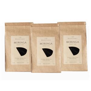 モリンガ茶(3.5g×30パック×3個) 沖縄産 無農薬モリンガ焙煎茶 ノンカロリー&ノンカフェイン モリンガ販売のパイオニア「魂の商材屋」のモリンガ茶|tamashii
