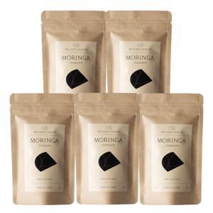 モリンガ100% モリンガパウダー(100g×5個) 沖縄産モリンガ粉末 無農薬モリンガ葉使用 モリンガ販売のパイオニア「魂の商材屋」のモリンガパウダー|tamashii