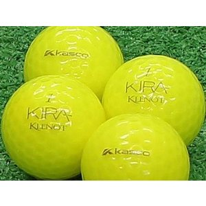 ロストボール Aランク ロゴなし キャスコ KIRA KLENOT イエローダイヤモンド 2011年モデル 20個セット