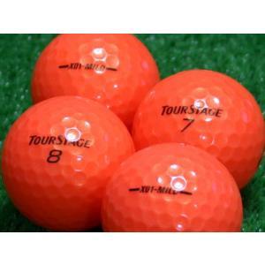 ロストボール Aランク ロゴなし ツアーステージ X01-MILD スーパーオレンジ 20個セット