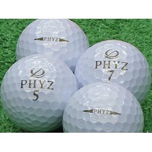 ロストボール Aランク ロゴなし ツアーステージ PHYZ パールホワイト 2013年モデル 20個セット