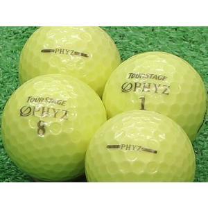 ロストボール Aランク ロゴなし ツアーステージ PHYZ シャイニーイエロー 2011年モデル 20個セット
